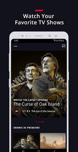 HISTORY: Watch TV Show Full Episodes & Specials 3.3.5 screenshots 1