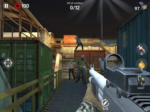 Dead Fire: Zombie shooting apktram screenshots 8