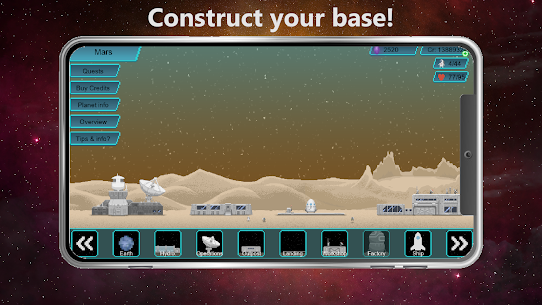 Tiny Space Program Mod Apk 1.1.377 (Lots of Credits/Crystals/Research Points) 2
