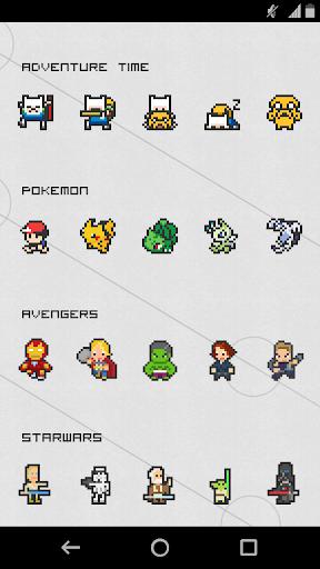 simply 8-bit icon pack screenshot 2