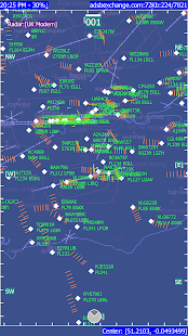 ADSB Flight Tracker Screenshot