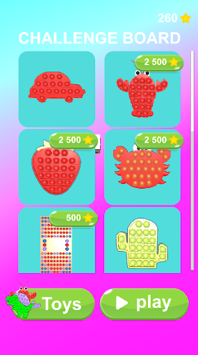 Pop It Challenge 3D! relaxing pop it games apktram screenshots 1