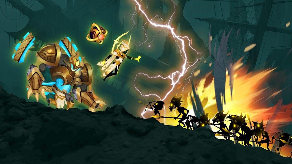 Stickman Legends: Shadow War Offline Fighting Game poster 13