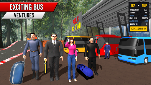 Coach Bus Driving Simulator 2020: City Bus Free 0.1 Screenshots 7
