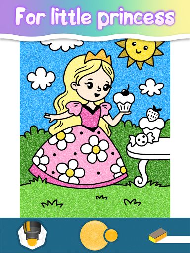 Coloring pages for little princesses  screenshots 17