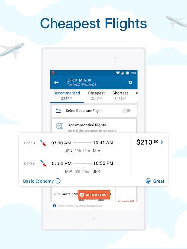 CheapOair: Cheap Flights, Cheap Hotels Booking App 3.20.18 Screenshots 15