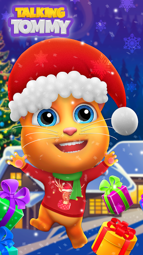 My Talking Cat Tommy - Virtual Pet 1.4.9 screenshots 1