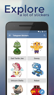 Stickers for Telegram Apk Download NEW 2021 1