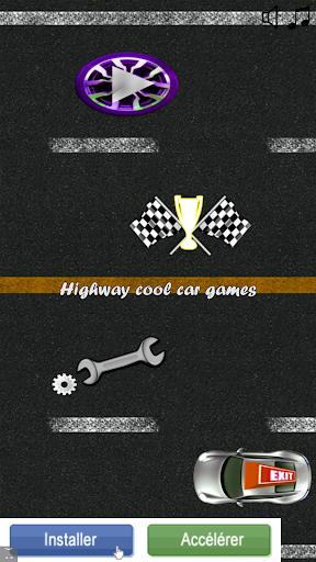 highway cool car games screenshot 1