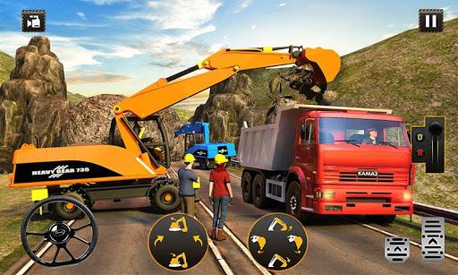 Hill Road Construction Games: Dumper Truck Driving  screenshots 2
