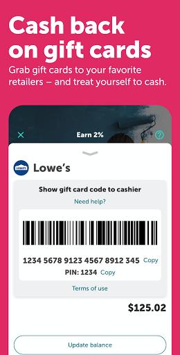 Ibotta: Cash Back Savings, Rewards & Coupons App apktram screenshots 4