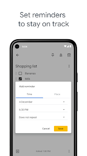 Google Notizen – Notizen und Listen Screenshot