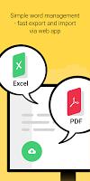 Vocabulary Miner: Flashcard maker app