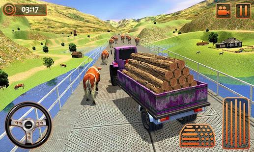 Farm Tractor Cargo Driving Simulator 20 screenshots 4