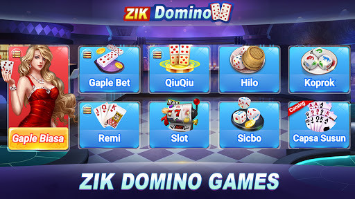 Domino Rummy Poker Slot Sicbo Online card games 4.9.0 screenshots 1