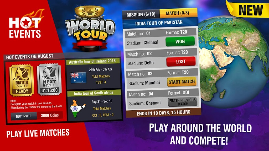 World Cricket Championship 2 - WCC2  poster 14