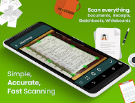 screenshot of Clear Scan: Free Document Scanner App,PDF Scanning