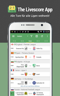 All Goals - Fußball Live Ticker Screenshot