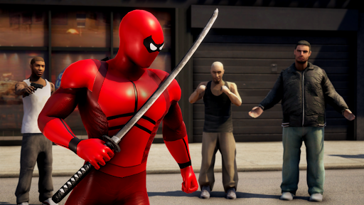 POWER SPIDER - Ultimate Superhero Parody Game modavailable screenshots 2