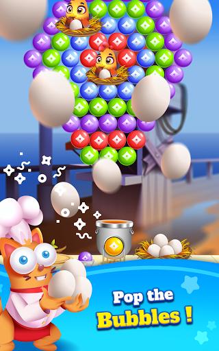 Kitten Games - Bubble Shooter Cooking Game apkmr screenshots 18