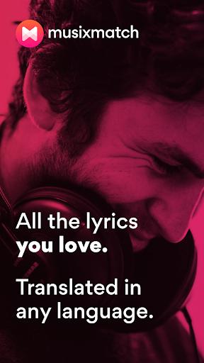 Musixmatch - Lyrics for your music screen 0