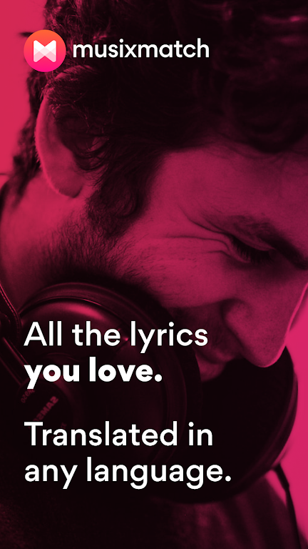 Musixmatch - Lyrics for your music poster 0