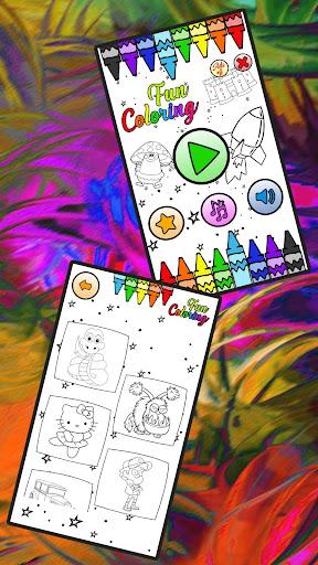 Fun Coloring for kids R.1.9.4 screenshots 11
