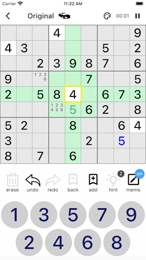 All Sudoku - 5 kinds of sudoku puzzle in one app 1.10.16 screenshots 2