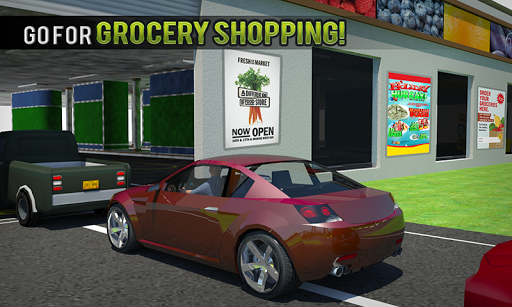 Drive Thru Supermarket: Shopping Mall Car Driving 2.3 Screenshots 2
