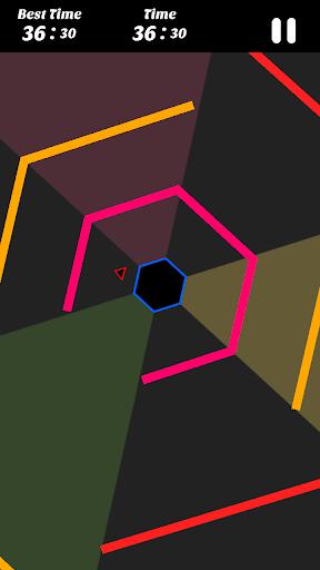 Hexagon - super hexagon, polygon 1.12 screenshots 2
