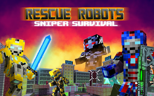 Rescue Robots Sniper Survival 1.101 screenshots 15