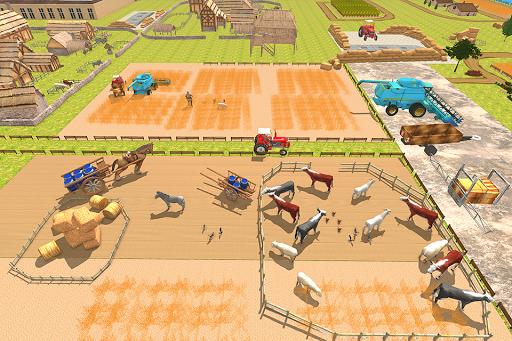 New Milford Tractor Farming Organic SIM Games 2019 apkdebit screenshots 15