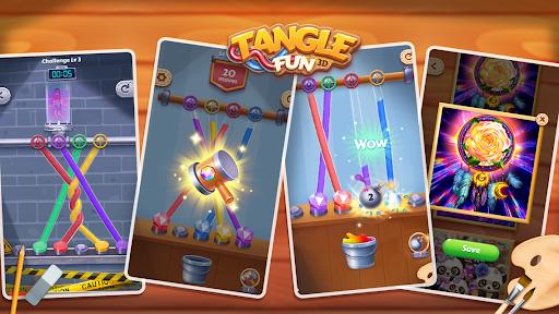 Tangle Fun - Can you untie all knots? 2.2.1 screenshots 1