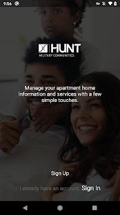 Hunt Resident App