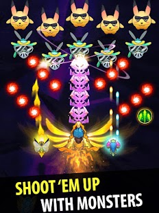 Sky Champ: Galaxy Space Shooter, Monster Evolve Screenshot