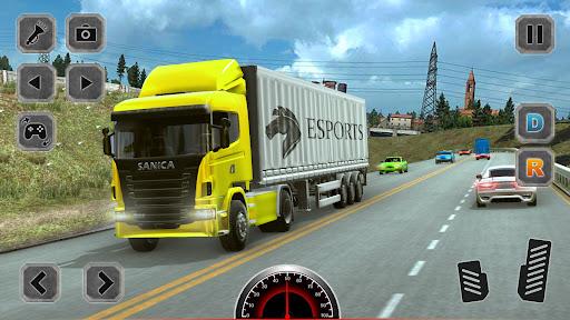 Euro Truck Driving Simulator Game  screenshots 11