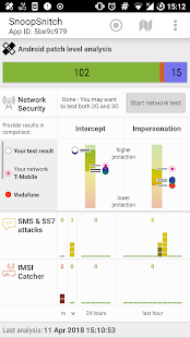 SnoopSnitch Screenshot