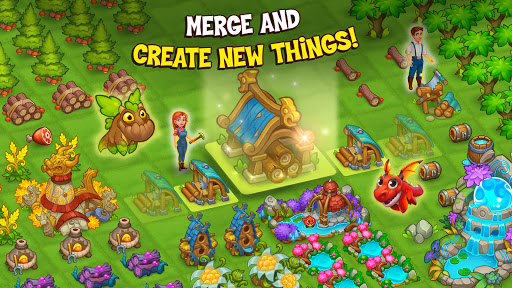 Merge World Above: Dragon games apkdebit screenshots 11