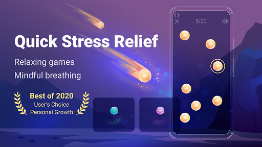 Stress Control Norbu: game, breathing, meditation android2mod screenshots 2