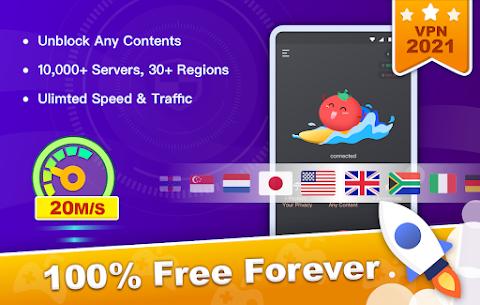 Free VPN Tomato   Fastest Free Hotspot VPN Proxy 1