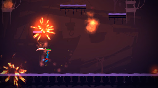 Stickman Exile Hero apkslow screenshots 1