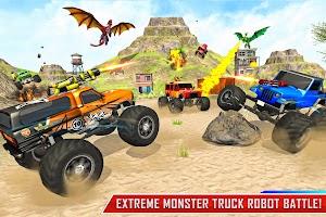 Dragon Robot Car Transforming Games: Robot Game 3D