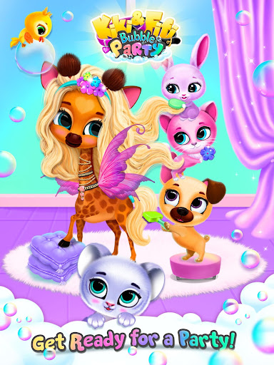 Kiki & Fifi Bubble Party - Fun with Virtual Pets  Screenshots 24