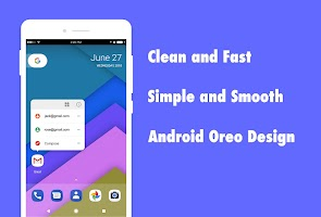 DC Launcher - Android Oreo Style, Fast & Simple