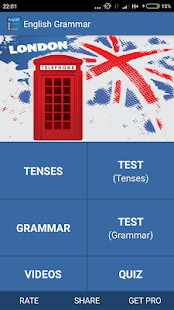 Learn english grammar quickly Screenshot