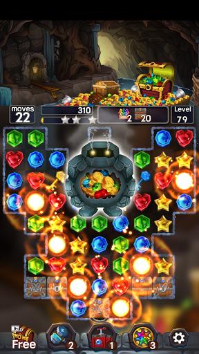 Jewel Mine Quest: Match-3 puzzle 1.1.7 screenshots 8