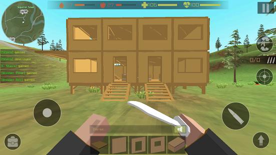 Zombie Hunter: Pixel Survival 1.29 screenshots 1