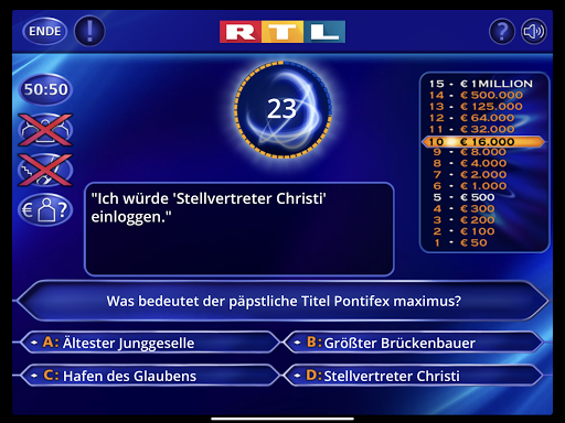 Wer wird Millionu00e4r? Trainingslager 2.0.76 screenshots 11