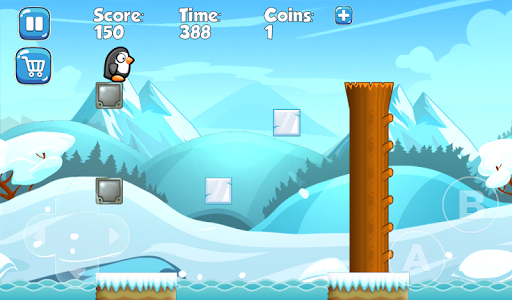 Super Penguin Adventure : free games without wifi  screenshots 1