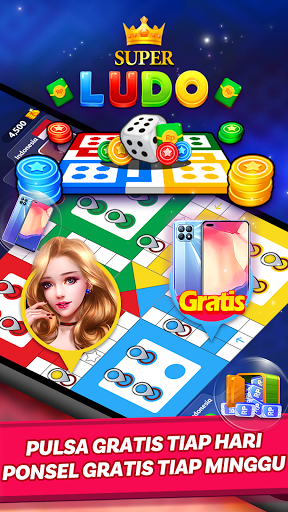 Ludo Super - Online Ludo Game(Hadiah Pulsa Gratis) 2.59.0.20210314 screenshots 1
